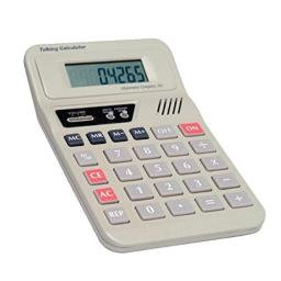 "Attainment CAL-T01 Talking Calculator, 4"" x 7"" Size, 1.7"" Height, 4.7"" Width, 7.5"" Length"