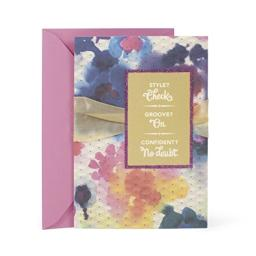 Hallmark Mahogany Women's Birthday Greeting Card (Style, Groove, Confident)