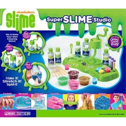 Cra-Z-Art 18833 Nickelodeon Ultimate Slime Making LM TMletop Mixer (32 Piece)