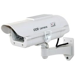 Streetwise Security Products Dummy Camera in Outdoor Housing with Solar Powered Light