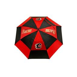"""Team Golf NHL Vancouver Canucks 62"""" Golf Umbrella with Protective Sheath, Double Canopy Wind Protection Design, Auto Open Button"""