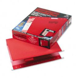 ESS4152X2RED - Pendaflex Reinforced 2amp;quot; Extra Capacity Hanging Folders