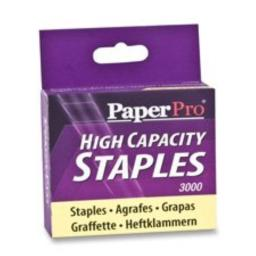 PaperPro-Bostitch 1962 High-Capacity Staples, 3/8-Inch Leg Length, 3000/Box