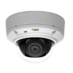 Axis 0547-001 M3026-VE Outdoor Fixed Dome Camera, 3 MP (White)