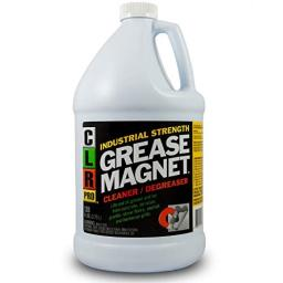 CLR PRO Grease Magnet, Industrial Strength Degreaser, 1 Gallon Bottle