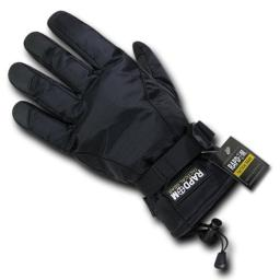RAPDOM Tactical Breathable Winter Gloves, Black, X-Large