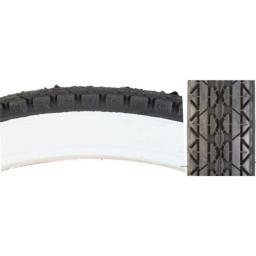 Cheng Shin C241 Street Bicycle Tire (Wire Bead, 26 x 2.125, White Wall)