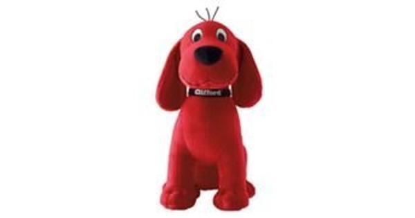 Kohls clifford The Big Red Dog Plush - 14 inches Beautiful Kohls cares for Kids 14 inch clifford the Big Red Dog plush toy with soft bone around neck. Very rare. Makes a great plush toy gift.
