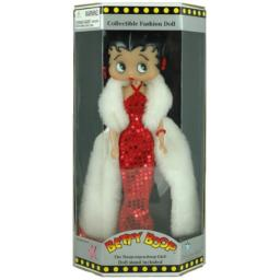 """12"""" Betty Boop Red Sequined Dress Doll"""