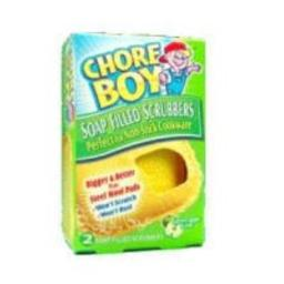 Chore Boy Soap Filled Scrubbers (Case of 6)