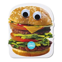 American Greetings Hamburger Birthday Card with Music and Movement