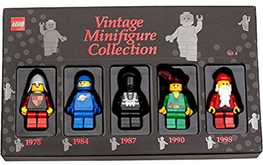 Lego Vintage Minifigure Collection Volume 4 1978, 1984, 1987, 1990, 1998