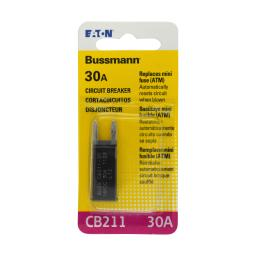 Bussmann (BP/CB211-30-RP) 30 Amp Type-I ATM Mini Circuit Breaker