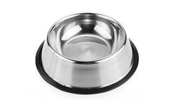 New Premium Stainless Steel Puppy Dog Food Bowl Pet Water Bowl 15CM