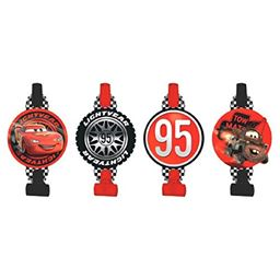 Cars Party Blowers, 8-Count