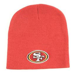 Etcbuys Nfl San Francisco Cold Comfortable Acrylic Yarn Mix Warm Winter Beanie