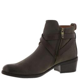 BUSSOLA alessia Womens Leather Almond Toe Ankle Fashion Boots