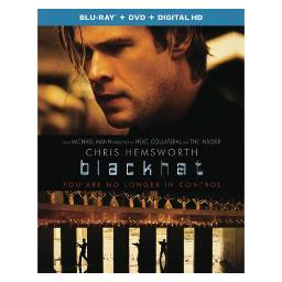 Blackhat (blu ray/dvd combo w/digital hd) BR61165894