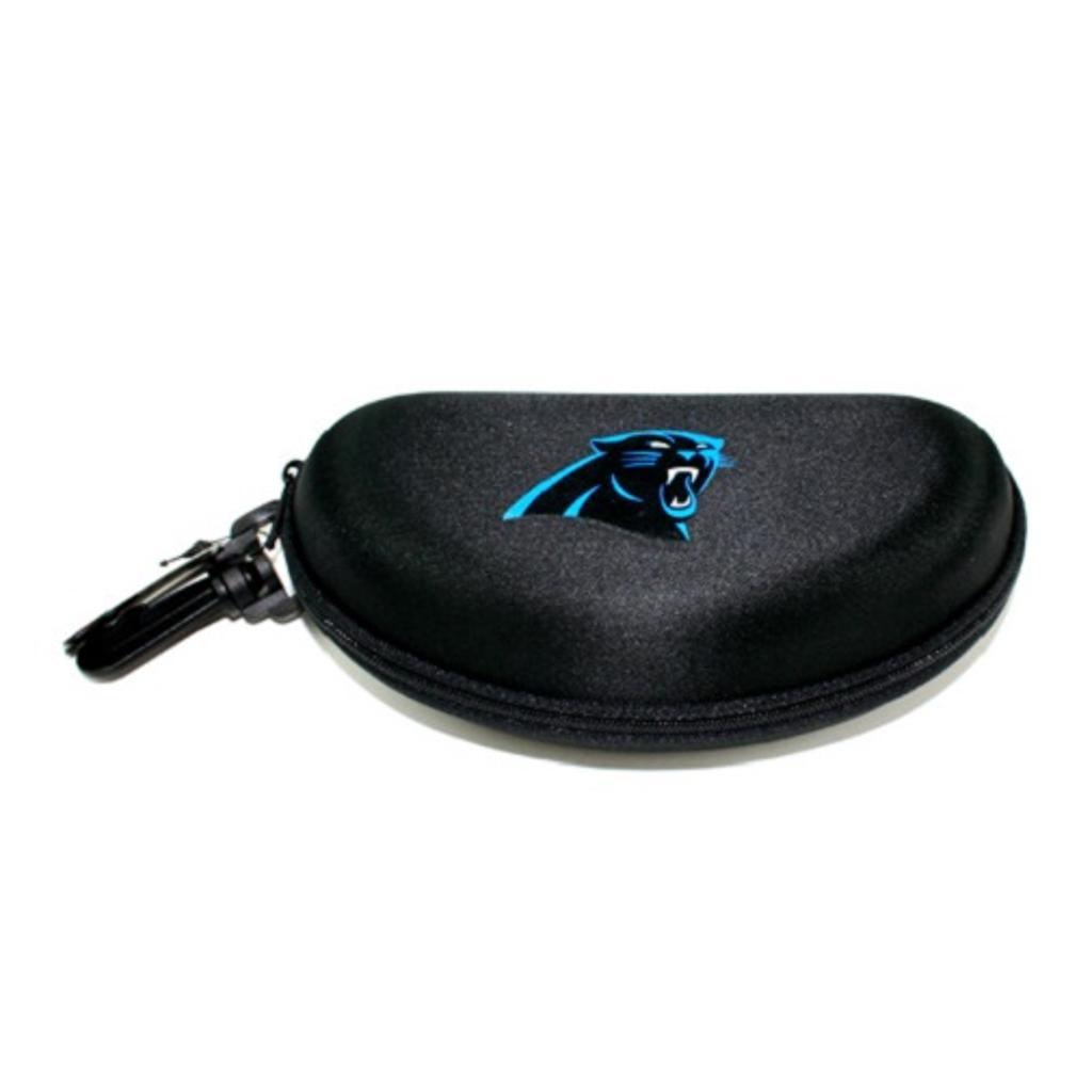 Carolina Panthers NFL Semi Hard Zip Up Sunglass Case