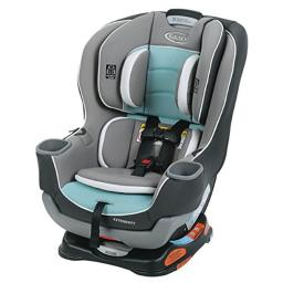 Graco Children S Products 8AQ00SIR Extend2Fit Convertible Car Seat in Spire