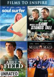 Abels field/might macs/soul surfer/when the game starts tall (dvd/2 disc) D47446D