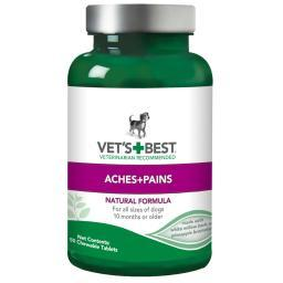 Vet'S Best 3165810126 Green Vet'S Best Dog Aches And Pains Supplement 50 Tablets Green 2.5 X 2.5X 4.94