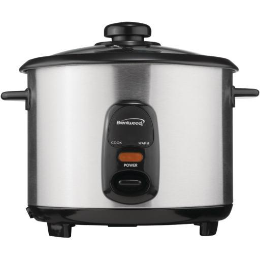 Brentwood Ts-20 Stainless Steel 10-Cup Rice Cooker