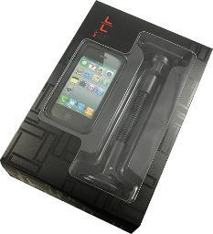 NEW LIMITED LUXURY BLACK CASE + CAR MOUNT COMBO FOR APPLE iPHONE 4S 4