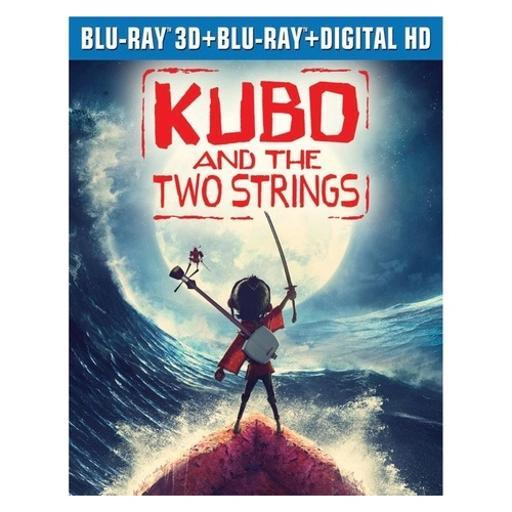 Kubo & the two strings (3d/blu ray/blu ray w/digital hd) (3d) BLK3WHU2ZYQVLMRI