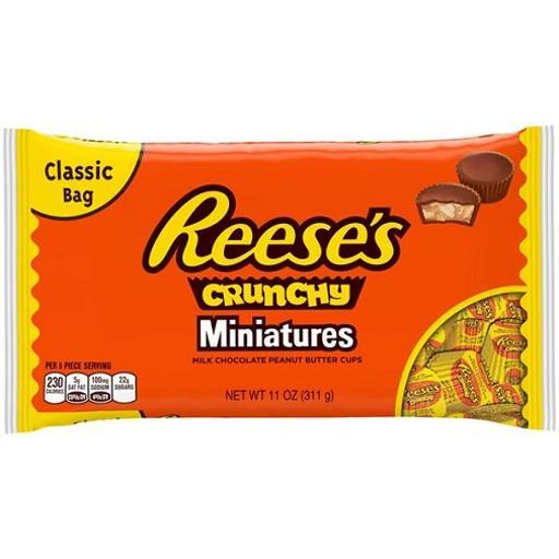Reese's Peanut Butter Cups Miniatures Crunchy Chocolate F71CC085495D674F