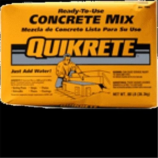 Quikrete 1101-60 60 lbs. Concrete Mix