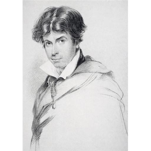 James Henry Leigh Hunt Aged 44, 1784-1859 British Poet, Essayist & Editor Engraved by H Meyer After J Hayter From The Book The Life of Charles Lamb Vo