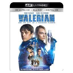 Valerian & the city of a thousand planets (blu ray/4kuhd/uv/dig hd) BR53141