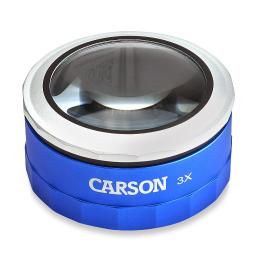 Carson mt-33 carson 3x touch activated led lighted loupe