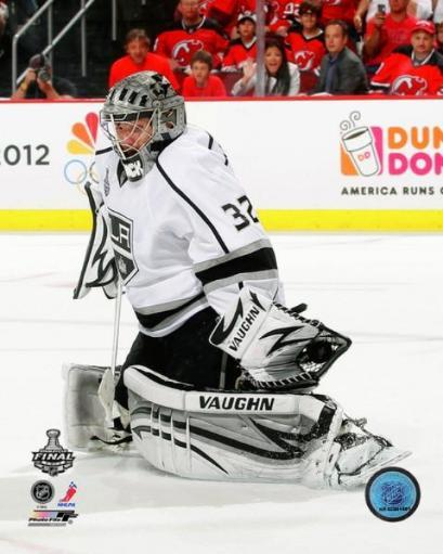 Jonathan Quick Game 1 of the 2012 NHL Stanley Cup Finals Action Photo Print SXVMYH7EMLAPCDGS