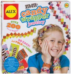 M&M's Candy Wrapper Jewelry Kit-