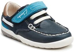 Clarks Boys First Softly Flag Shoes
