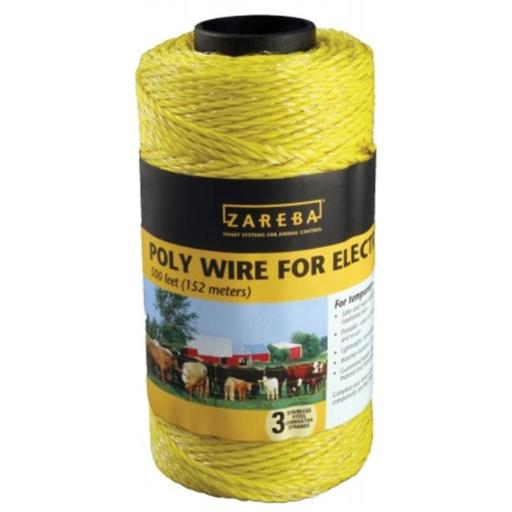 Zareba Woodstream 500 Electric Fence Wire RSW500