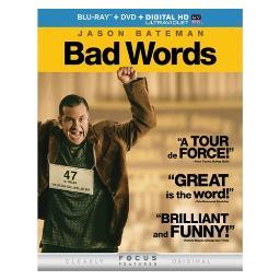 Bad words (blu ray w/dvd/digital hd w/ultraviolet) BR62130928