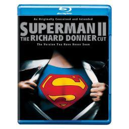 Superman ii-richard donner cut (blu-ray/ws-2.40/eng sdh-eng-fr sub) BR113104