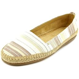 Aerosoles Solitaire Women Round Toe Canvas Tan Espadrille