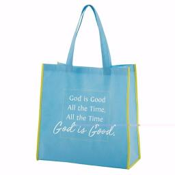 Cb Gift 143026 13 Sq In. X 6 In. God Is Good Gusset Tote Bag, Nylon