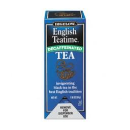 Bigelow 10357 Single Flavor Tea Decaf, English Teatime