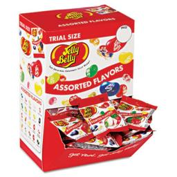 Office Snax 72512 Jelly Beans, Assorted Flavors, Dispenser Box