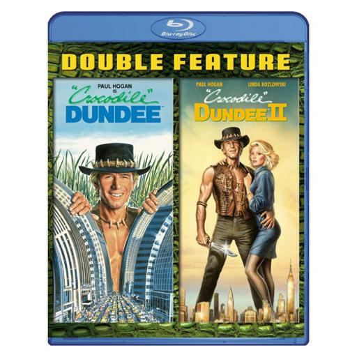 Crocodile dundee/crocodile dundee 2 (blu ray/double feature) (2discs) 1318166