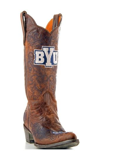 Gameday Boots Womens College Team BYU Cougars Brass BYU-L029-1 2936C41314B9E32