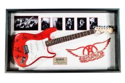 aerosmith-signed-electric-guitar-autographed-in-wood-frame-bu0pkn7c60y9fgj2