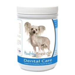 Healthy Breeds 840235162469 Chinese Crested Breath Care Soft Chews for Dogs - 60 Count