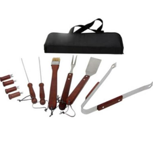 KitchenWorthy 11 Piece BBQ Tool Set - Case of 12