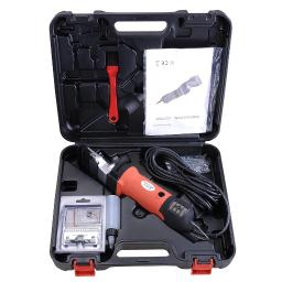 Yescom Professional Electrical Horse Clipper Machine Electric Shears w/ Carry Case Detachable Spare Blade